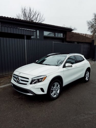 Установка линз Mercedes-Benz GLA 250