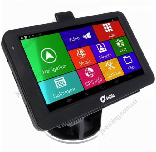 GPS навигатор Sigma A518 Android