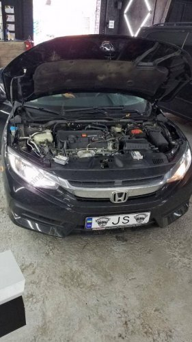 Установка ксенона Honda Civic 2016 г.в.
